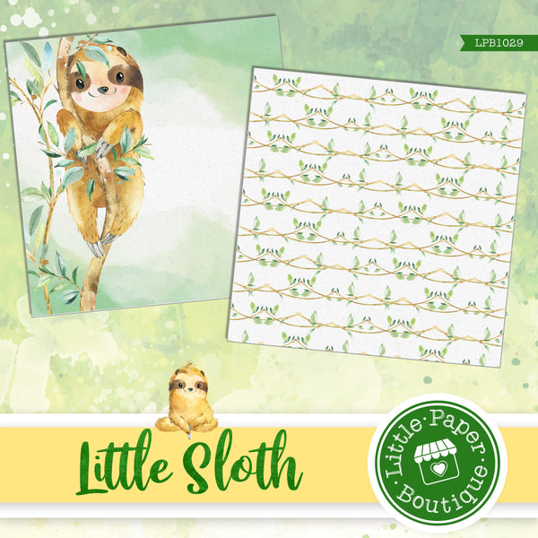 Little Sloth Digital Paper LPB1029