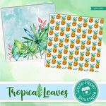 Tropical Leaves Digital Paper LPB1030