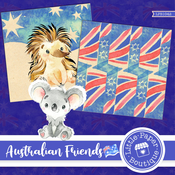 Australian Friends Digital Paper LPB1042