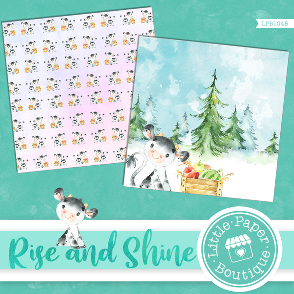 Rise and Shine Digital Paper LPB1048