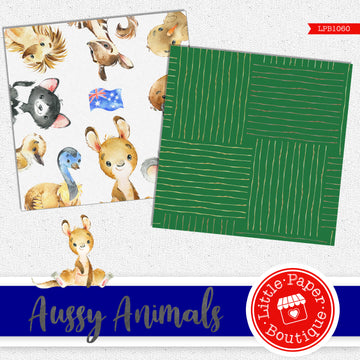 Aussy Animals Digital Paper LPB1060