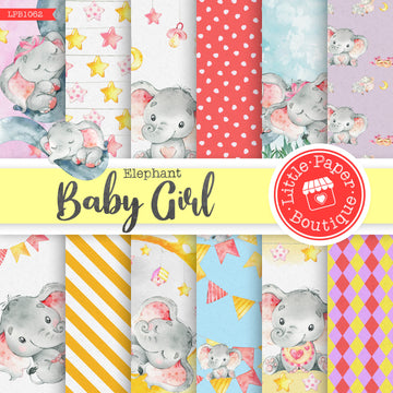 Baby Girl Digital Paper LPB1062