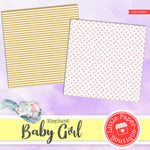 Baby Girl Digital Paper LPB1062B