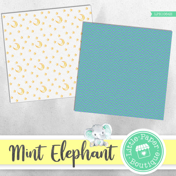 Mint Elephant Digital Paper LPB1064B