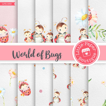 World of Bugs Digital Paper LPB1069