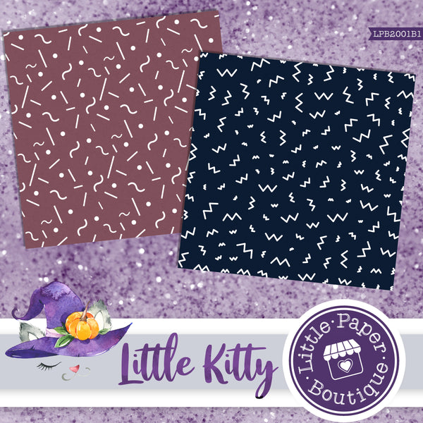Little Kitty Digital Paper LPB2001B1