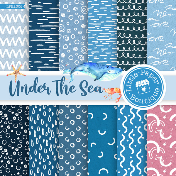 Under The Sea Digital Paper LPB2008