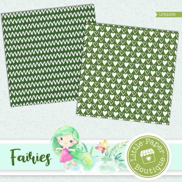 Fairies Digital Paper LPB2009