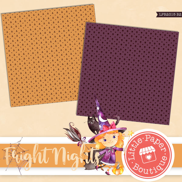 Fright Nights Digital Paper LPB2015B2
