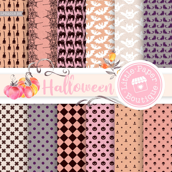 Halloween Digital Paper LPB2015B5