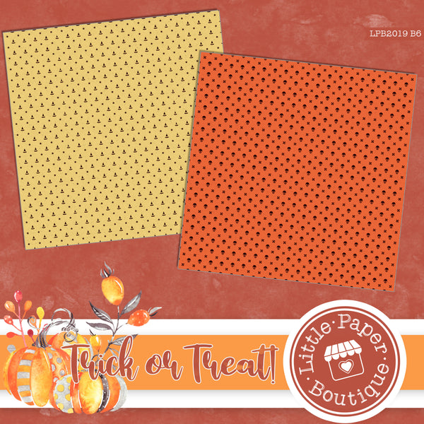 Trick or Treat! Digital Paper LPB2019B6