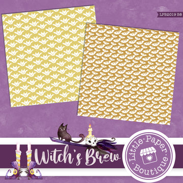 Witch's Brew Digital Paper LPB2019B8