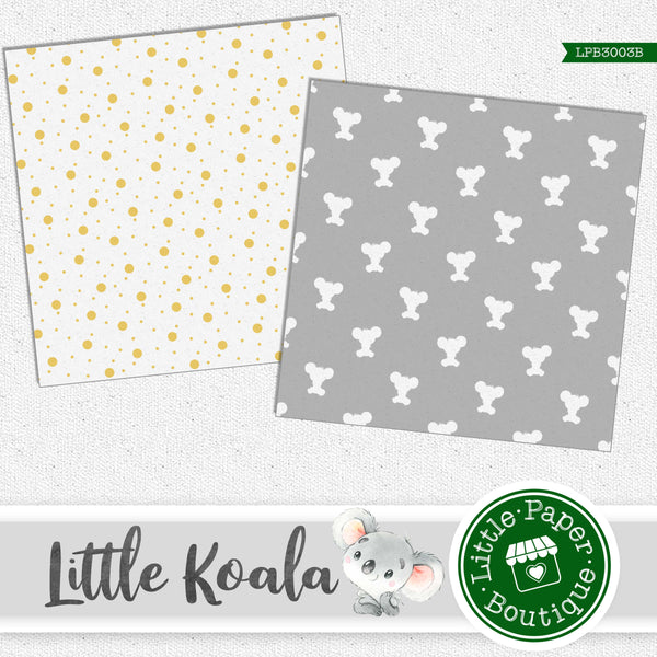 Little Koala Digital Paper LPB3003B