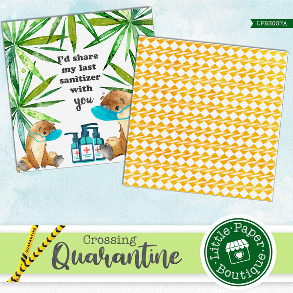 Quarantine Crossing Digital Paper LPB3007A