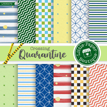 Quarantine Crossing Digital Paper LPB3007B