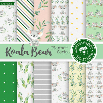 Koala Bear Digital Paper LPB3008A