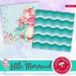The Little Mermaid Digital Paper LPB3009A