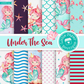 Under The Sea Digital Paper LPB3011A