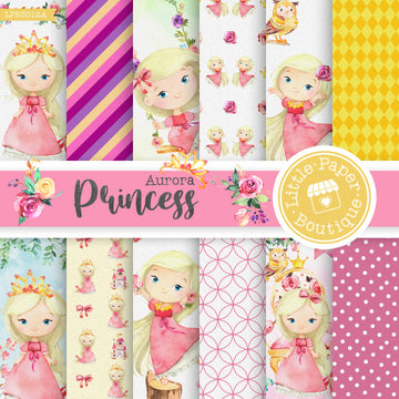 Princess Aurora Digital Paper LPB3012A