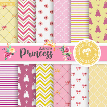 Princess Aurora Digital Paper LPB3012B