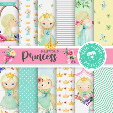Fairytale Princess Digital Paper LPB3013A