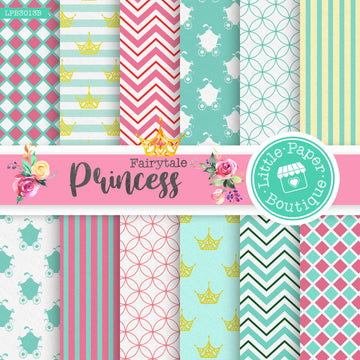 Fairytale Princess Digital Paper LPB3013B