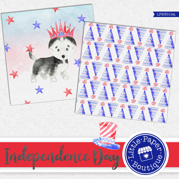 Independence Day Digital Paper LPB3019A