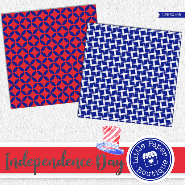 Independence Day Digital Paper LPB3019B