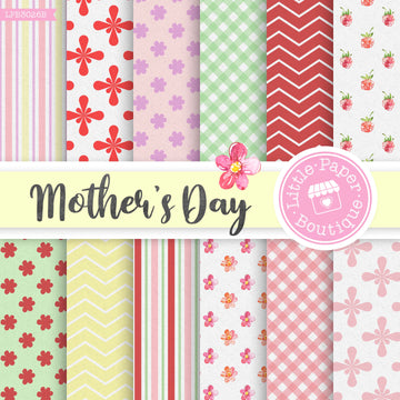 Mother's Day Digital Paper LPB3026B