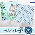 Father's Day Digital Paper LPB3027A