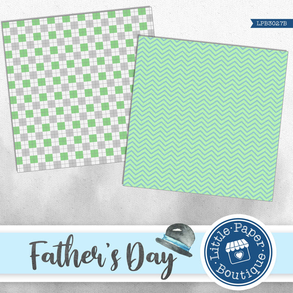 Father's Day Digital Paper LPB3027B