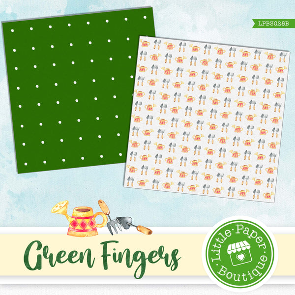 Green Fingers Digital Paper LPB3028B