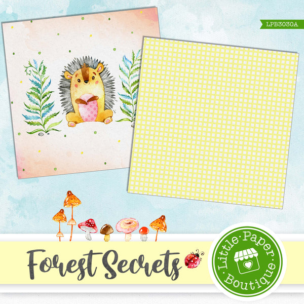 Forest Secrets Digital Paper LPB3030A