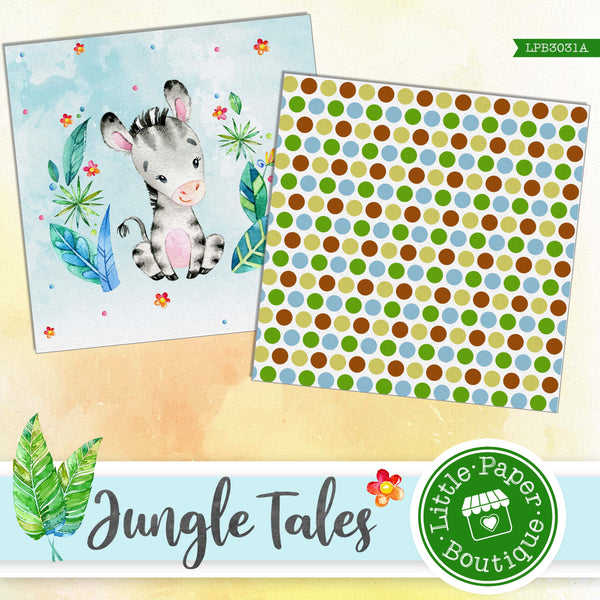 Jungle Tales Digital Paper LPB3031A