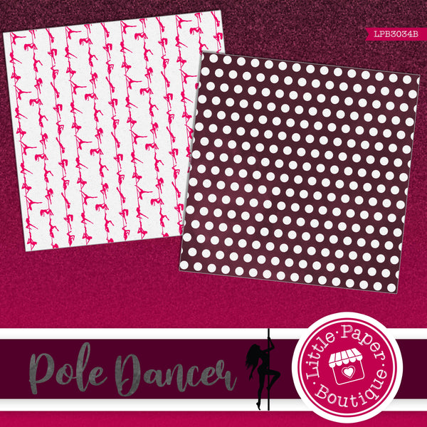 Pole Dancers Digital Paper LPB3034B