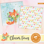 Clever Foxes Digital Paper LPB3036A