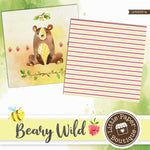 Beary Wild Digital Paper LPB3037A