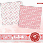 Be My Valentine Digital Paper LPB3047B