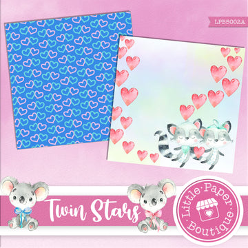 Twin Stars Digital Paper LPB5002A