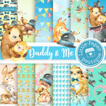 Daddy and Me Digital Paper LPB5014A