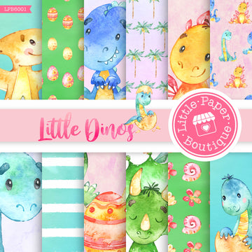Little Dinosaur Digital Paper LPB6001