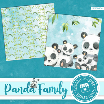 Panda Family Digital Paper LPB6006A