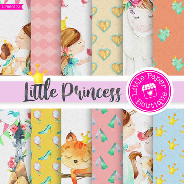 Little Princess Digital Paper LPB6017A