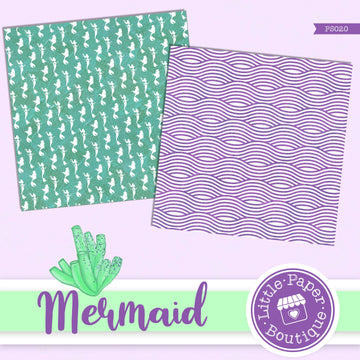 Mermaid Scales Digital Paper PS020