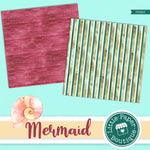Mermaid Scales Digital Paper PS023