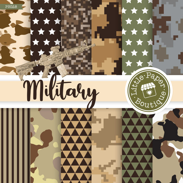 US Military Digital Paper PS028