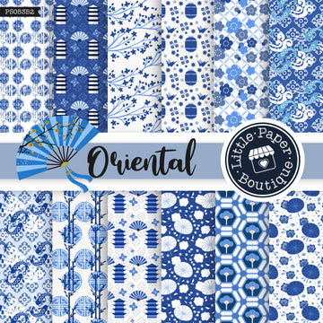 Oriental Digital Paper PS053B2