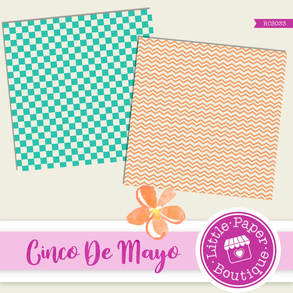 Cinco De Mayo Digital Paper RCS033
