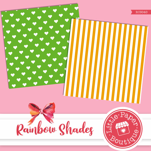 Rainbow Shades Digital Paper RCS040