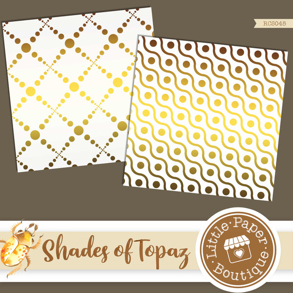 Shades of Topaz Digital Paper RCS045